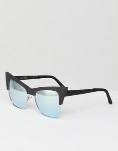 Солнцезащитные очки в оправе с леопардовым принтом Quay Australia Summer Fling - Коричневый