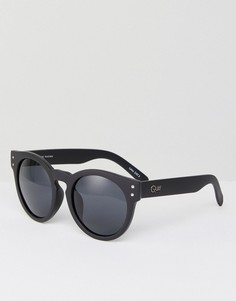 Черные солнцезащитные очки Quay Australia Summer - Черный