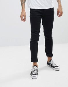 Зауженные джинсы Le Breve - Черный