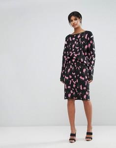 Облегающая юбка с камуфляжным принтом Max&Co - Мульти