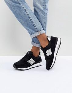 Черные кроссовки New Balance 565 - Черный