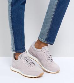 Розовые замшевые кроссовки Nike Internationalist - Розовый