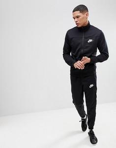 Черный спортивный костюм Nike Poly 861774-010 - Черный