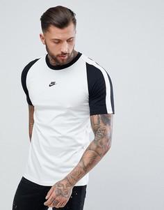 Белая футболка с логотипом Nike N98 AH8648-121 - Белый