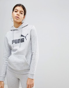 Серый худи Puma Essentials - Серый
