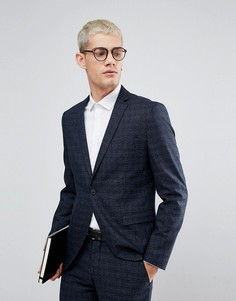 Приталенный пиджак Selected Homme Wedding - Темно-синий