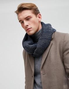 Темно-синий шарф-снуд Esprit - Темно-синий