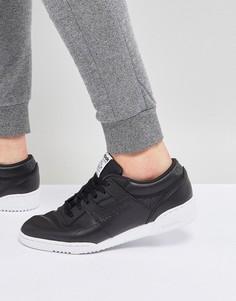 Черные кроссовки Reebok Workout LO Clean ID BS9830 - Черный