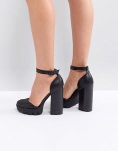 Туфли на каблуке ASOS OMINI - Черный