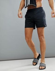 Черные шорты для плавания adidas CV7111 - Черный