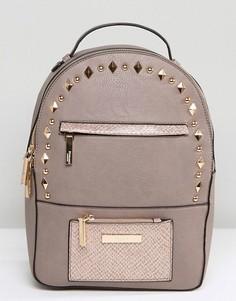 Рюкзак с отделкой заклепками Dune - Бежевый