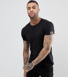 Черная футболка Replay - Черный