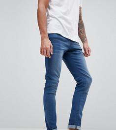 Синие супероблегающие джинсы Brooklyn Supply Co - Синий
