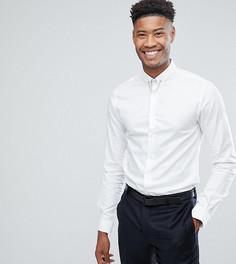 Приталенная рубашка с цепочкой Noose & Monkey TALL - Белый