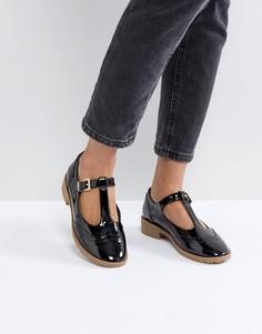 Туфли на плоской подошве ASOS MAXIME - Черный