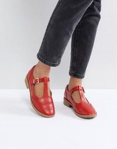 Туфли на плоской подошве ASOS MAXIME - Красный
