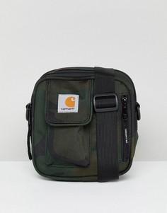 Сумка для авиапутешествий с камуфляжным принтом Carhartt WIP Essentials - Зеленый