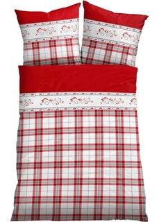Постельное белье Тини, линон (красный) Bonprix