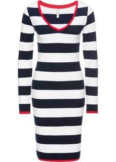 Платье летнее в полоску (темно-синий/белый/красный в полоску) Bonprix
