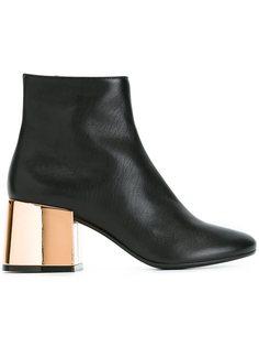 ботинки на массивном контрастном каблуке Mm6 Maison Margiela