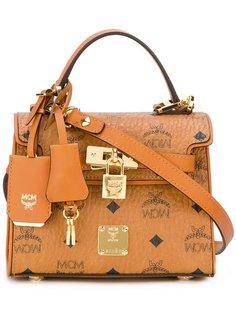 сумка на плечо с логотипом MCM