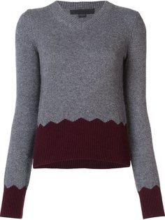 свитер c V-образным вырезом  Alexander Wang