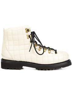 стеганые ботинки  Buttero