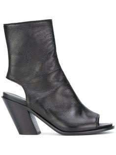 ботинки с вырезными деталями A.F.Vandevorst
