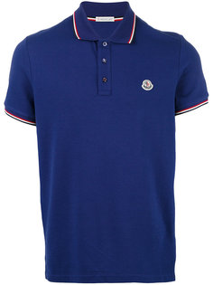 футболка-поло с полосками Moncler
