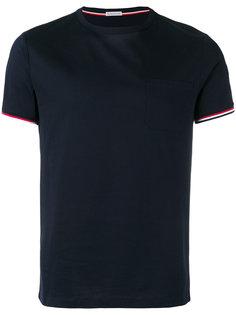 футболка с полосками  Moncler