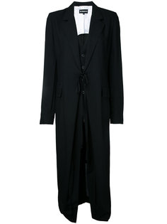 классическое пальто Ann Demeulemeester