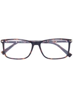 очки в прямоугольной оправе Ermenegildo Zegna