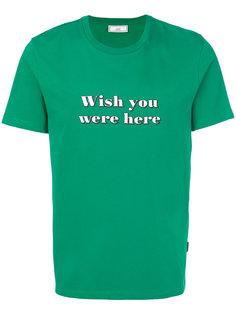 футболка Wish You Were Here Ami Alexandre Mattiussi