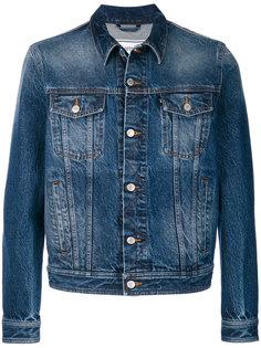 джинсовая куртка с декоративной строчкой Ami Alexandre Mattiussi