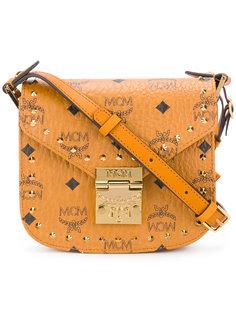 сумка через плечо с заклепками MCM
