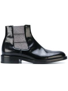 ботинки-челси с эластичной вставкой с металлической нитью Christopher Kane