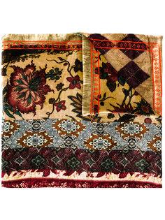 шарф с цветочной вышивкой Pierre-Louis Mascia