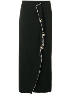 юбка с оборкой  Coliac