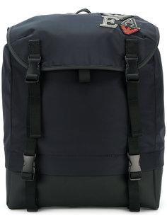 рюкзак с вышивкой Emporio Armani