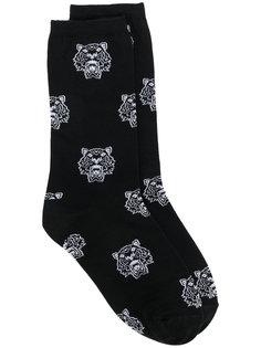 носки с тиграми  Kenzo