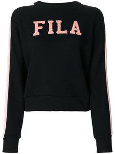 толстовка с нашивкой-логотипом Fila