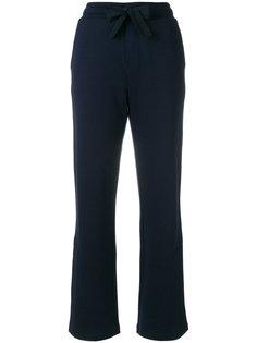спортивные брюки в полоску с логотипом  Moncler