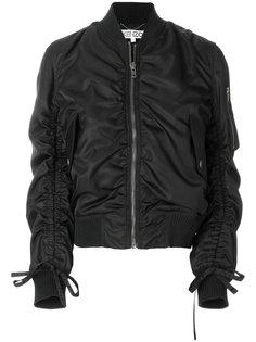 куртка-бомбер со сборкой  Kenzo