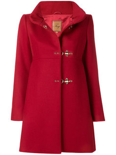дутое пальто с воротником-стойкой  Fay