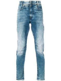 джинсы кроя слим с потертой отделкой G-Star