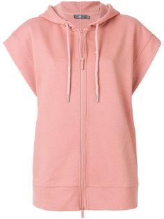 short-sleeved yoga hoodie Adidas By Stella Mccartney