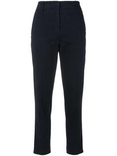 укороченные брюки с завышенной талией Luisa Cerano