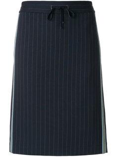 юбка на шнурке в тонкую полоску Luisa Cerano