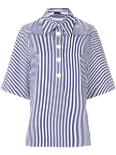 рубашка в полоску с короткими рукавами  Joseph
