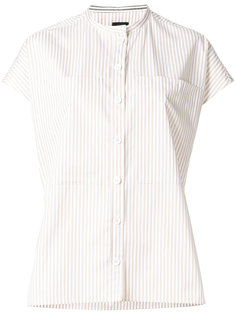 полосатая рубашка с короткими рукавами Joseph